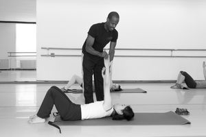Pilates Workshop | mit Luches J. Huddleston Jr. | Foto: Robin Pastyr